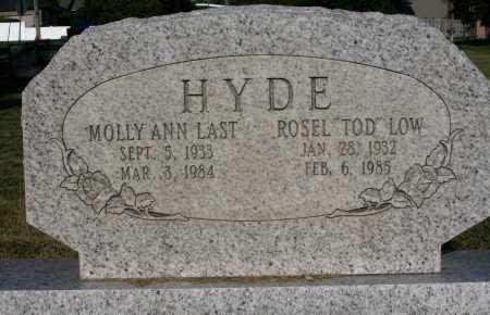HYDE, ROSEL LOW - Cache County, Utah | ROSEL LOW HYDE - Utah Gravestone Photos