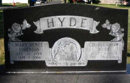 HYDE, CHARLES LOW HYDE - Cache County, Utah | CHARLES LOW HYDE HYDE - Utah Gravestone Photos