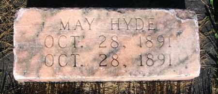 HYDE, MAY - Cache County, Utah   MAY HYDE - Utah Gravestone Photos