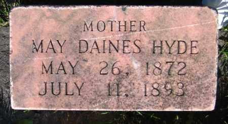 HYDE, MAY - Cache County, Utah | MAY HYDE - Utah Gravestone Photos