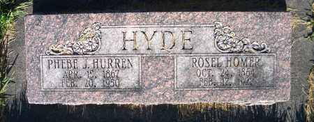 HYDE, PHEBE J. - Cache County, Utah | PHEBE J. HYDE - Utah Gravestone Photos
