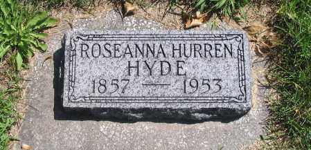 HYDE, ROSEANNA - Cache County, Utah | ROSEANNA HYDE - Utah Gravestone Photos