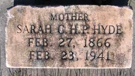 HYDE, SARAH C. H. P. - Cache County, Utah | SARAH C. H. P. HYDE - Utah Gravestone Photos