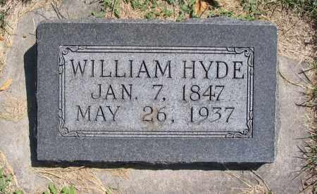 HYDE, WILLIAM - Cache County, Utah | WILLIAM HYDE - Utah Gravestone Photos