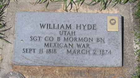 HYDE, WILLIAM - Cache County, Utah   WILLIAM HYDE - Utah Gravestone Photos