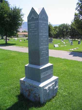 THURSTON, JAMES - Cache County, Utah | JAMES THURSTON - Utah Gravestone Photos