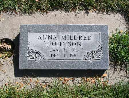 JOHNSON, ANNA MILDRED - Cache County, Utah | ANNA MILDRED JOHNSON - Utah Gravestone Photos