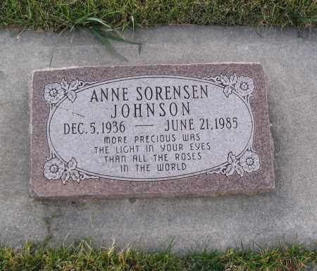 JOHNSON, ANNE - Cache County, Utah | ANNE JOHNSON - Utah Gravestone Photos