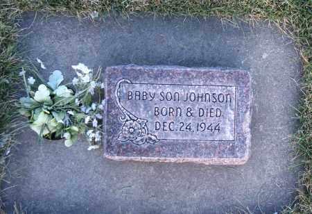 JOHNSON, BABY SON - Cache County, Utah | BABY SON JOHNSON - Utah Gravestone Photos