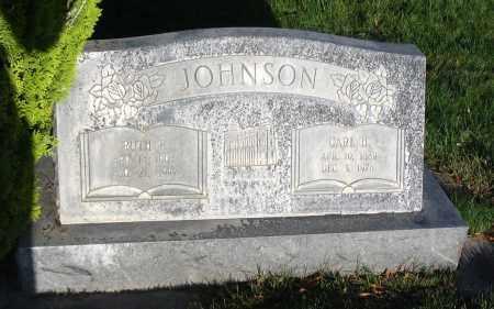JOHNSON, CARL H. - Cache County, Utah | CARL H. JOHNSON - Utah Gravestone Photos