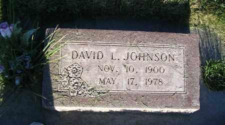 JOHNSON, DAVID L. - Cache County, Utah   DAVID L. JOHNSON - Utah Gravestone Photos