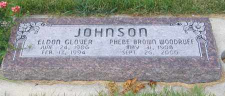JOHNSON, ELDON GLOVER - Cache County, Utah | ELDON GLOVER JOHNSON - Utah Gravestone Photos