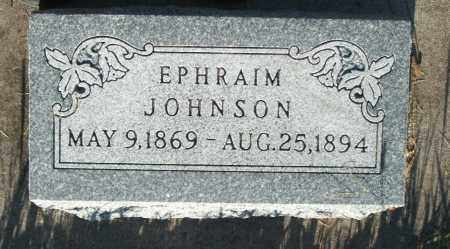 JOHNSON, EPHRAIM - Cache County, Utah | EPHRAIM JOHNSON - Utah Gravestone Photos