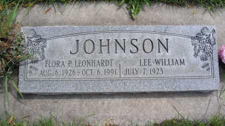 JOHNSON, FLORA P. - Cache County, Utah | FLORA P. JOHNSON - Utah Gravestone Photos