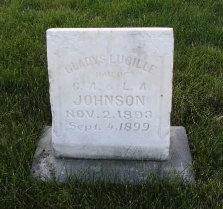 JOHNSON, GLADYS LUCILLE - Cache County, Utah | GLADYS LUCILLE JOHNSON - Utah Gravestone Photos