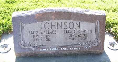 JOHNSON, JAMES WALLACE - Cache County, Utah | JAMES WALLACE JOHNSON - Utah Gravestone Photos