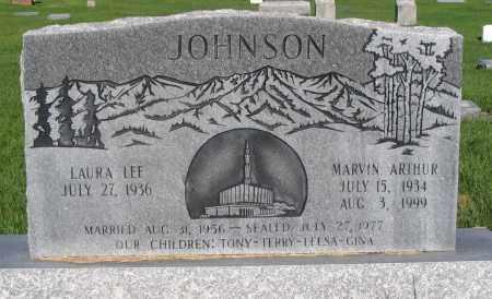 JOHNSON, MARVIN ARTHUR - Cache County, Utah   MARVIN ARTHUR JOHNSON - Utah Gravestone Photos