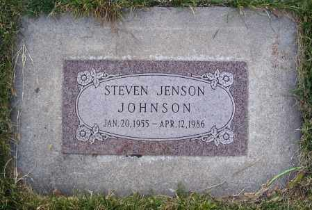 JOHNSON, STEVEN JENSON - Cache County, Utah | STEVEN JENSON JOHNSON - Utah Gravestone Photos