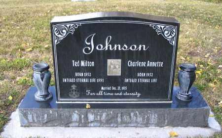 JOHNSON, CHARLENE ANNETTE - Cache County, Utah | CHARLENE ANNETTE JOHNSON - Utah Gravestone Photos