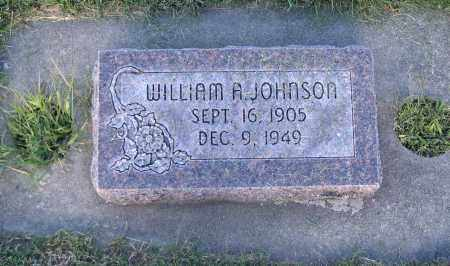 JOHNSON, WILLIAM A. - Cache County, Utah | WILLIAM A. JOHNSON - Utah Gravestone Photos