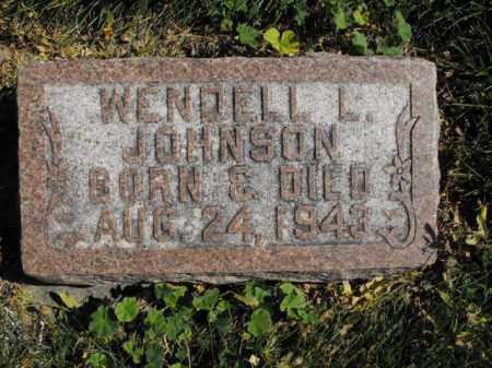 JOHNSON, WENDELL - Cache County, Utah | WENDELL JOHNSON - Utah Gravestone Photos