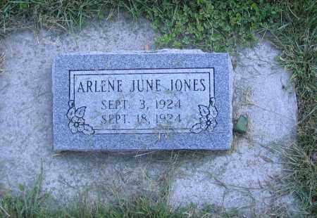 JONES, ARLENE JUNE - Cache County, Utah | ARLENE JUNE JONES - Utah Gravestone Photos