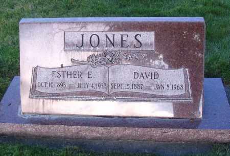 JONES, DAVID - Cache County, Utah | DAVID JONES - Utah Gravestone Photos