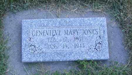 JONES, GENEVIEVE MARY - Cache County, Utah | GENEVIEVE MARY JONES - Utah Gravestone Photos