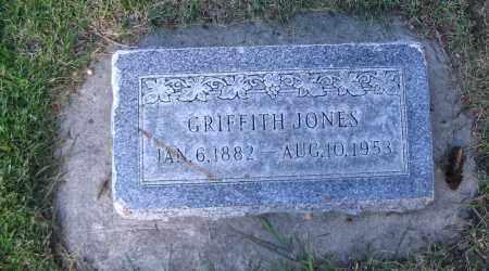 JONES, GRIFFITH - Cache County, Utah | GRIFFITH JONES - Utah Gravestone Photos