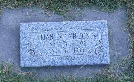 JONES, LILLIAN EVELYN - Cache County, Utah | LILLIAN EVELYN JONES - Utah Gravestone Photos