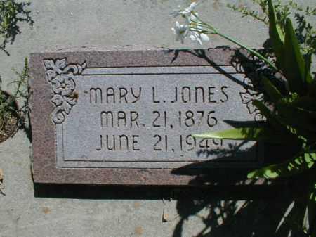JONES, MARY - Cache County, Utah | MARY JONES - Utah Gravestone Photos