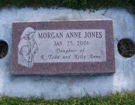 JONES, MORGAN ANNE - Cache County, Utah   MORGAN ANNE JONES - Utah Gravestone Photos