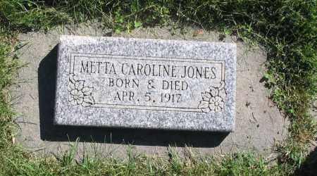 JONES, METTA CAROLINE - Cache County, Utah | METTA CAROLINE JONES - Utah Gravestone Photos