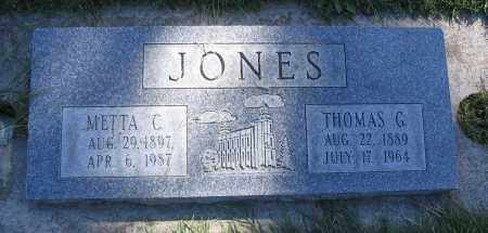 JONES, METTA C. - Cache County, Utah | METTA C. JONES - Utah Gravestone Photos