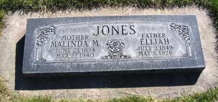 JONES, MALINDA M. - Cache County, Utah | MALINDA M. JONES - Utah Gravestone Photos