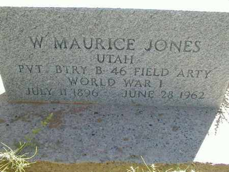JONES (WWI), W. MAURICE - Cache County, Utah | W. MAURICE JONES (WWI) - Utah Gravestone Photos