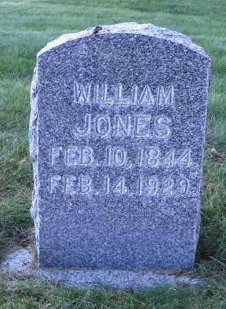 JONES, WILLIAM - Cache County, Utah | WILLIAM JONES - Utah Gravestone Photos