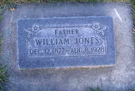 JONES, WILLIAM - Cache County, Utah | WILLIAM JONES - Utah Gravestone Photos