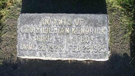 KENDRICK, BOY - Cache County, Utah | BOY KENDRICK - Utah Gravestone Photos