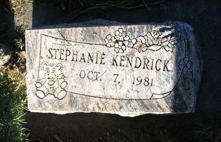 KENDRICK, STEPHANIE - Cache County, Utah | STEPHANIE KENDRICK - Utah Gravestone Photos