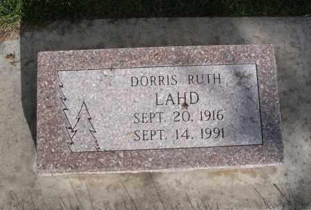 PALMER LAHD, DORRIS RUTH - Cache County, Utah | DORRIS RUTH PALMER LAHD - Utah Gravestone Photos