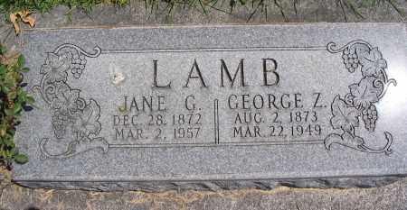 LAMB, GEORGE Z. - Cache County, Utah | GEORGE Z. LAMB - Utah Gravestone Photos