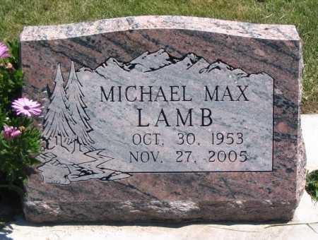 LAMB, MICHAEL MAX - Cache County, Utah   MICHAEL MAX LAMB - Utah Gravestone Photos