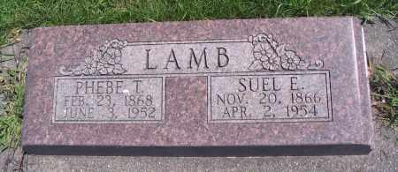 LAMB, SUEL E. - Cache County, Utah   SUEL E. LAMB - Utah Gravestone Photos