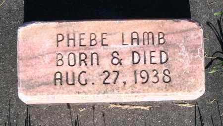 LAMB, PHEBE - Cache County, Utah   PHEBE LAMB - Utah Gravestone Photos