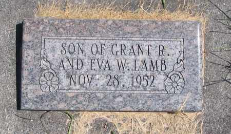 LAMB, SON - Cache County, Utah   SON LAMB - Utah Gravestone Photos