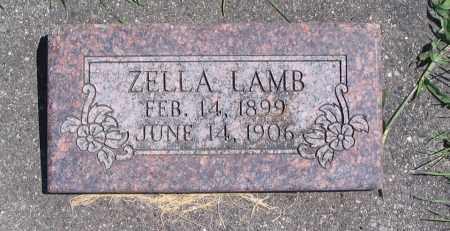 LAMB, ZELLA - Cache County, Utah | ZELLA LAMB - Utah Gravestone Photos