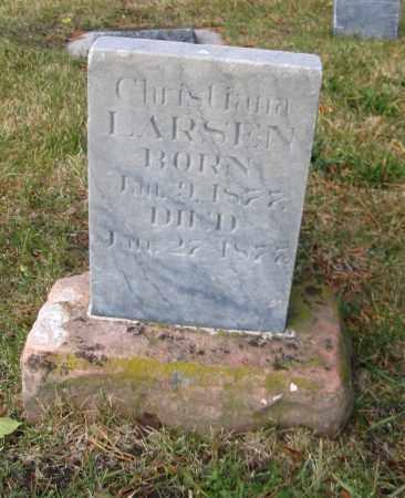 LARSEN, CHRISTINA - Cache County, Utah | CHRISTINA LARSEN - Utah Gravestone Photos