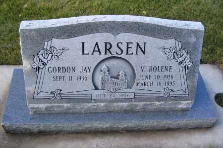 LARSEN, GORDON JAY - Cache County, Utah   GORDON JAY LARSEN - Utah Gravestone Photos