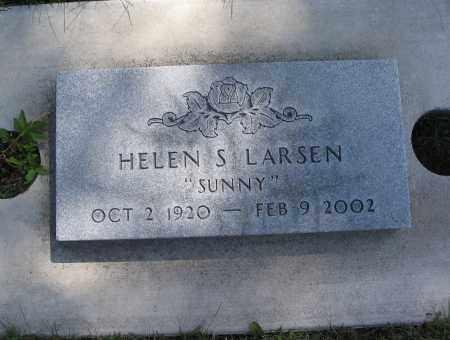 LARSEN, HELEN SYBIL (SUNNY) - Cache County, Utah | HELEN SYBIL (SUNNY) LARSEN - Utah Gravestone Photos